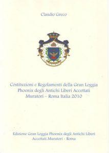 costituzioni e regolamenti phoenix