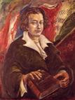 [Ritratto del Massone Fr∴Filippo Buonarroti∴, olio su tela del pittore Antonio Maria Fascetti]